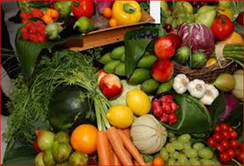 frutas yerduras